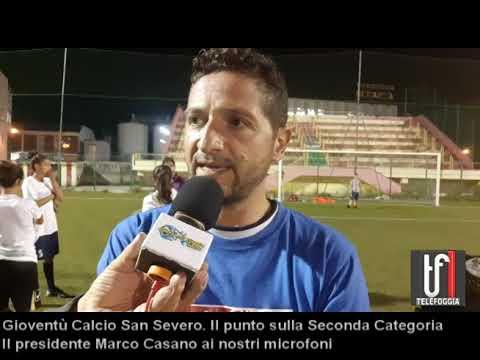 """Gioventù San Severo. Marco Casano fa il punto sulla Seconda e presenta la """"Femminile"""""""