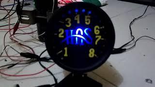 Test RPM Digital LED Home Made