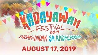 Kadayawan Festival Indak-Indak sa Kadalanan Street Dancing Competition | August 17, 2019