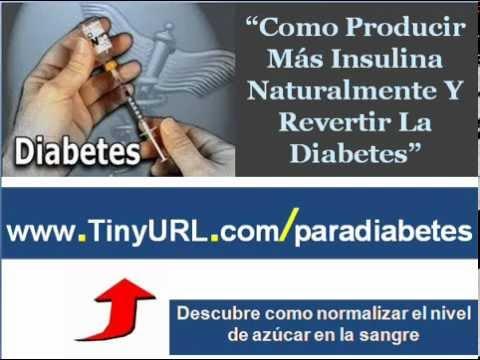 Como producir mas insulina naturalmente   Como curar la
