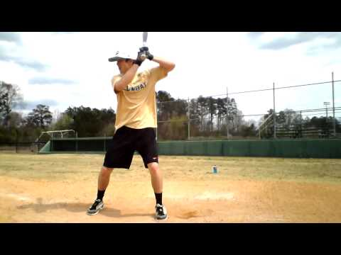 Steven Maier (Greenbrier High School) - Hitting Front Toss