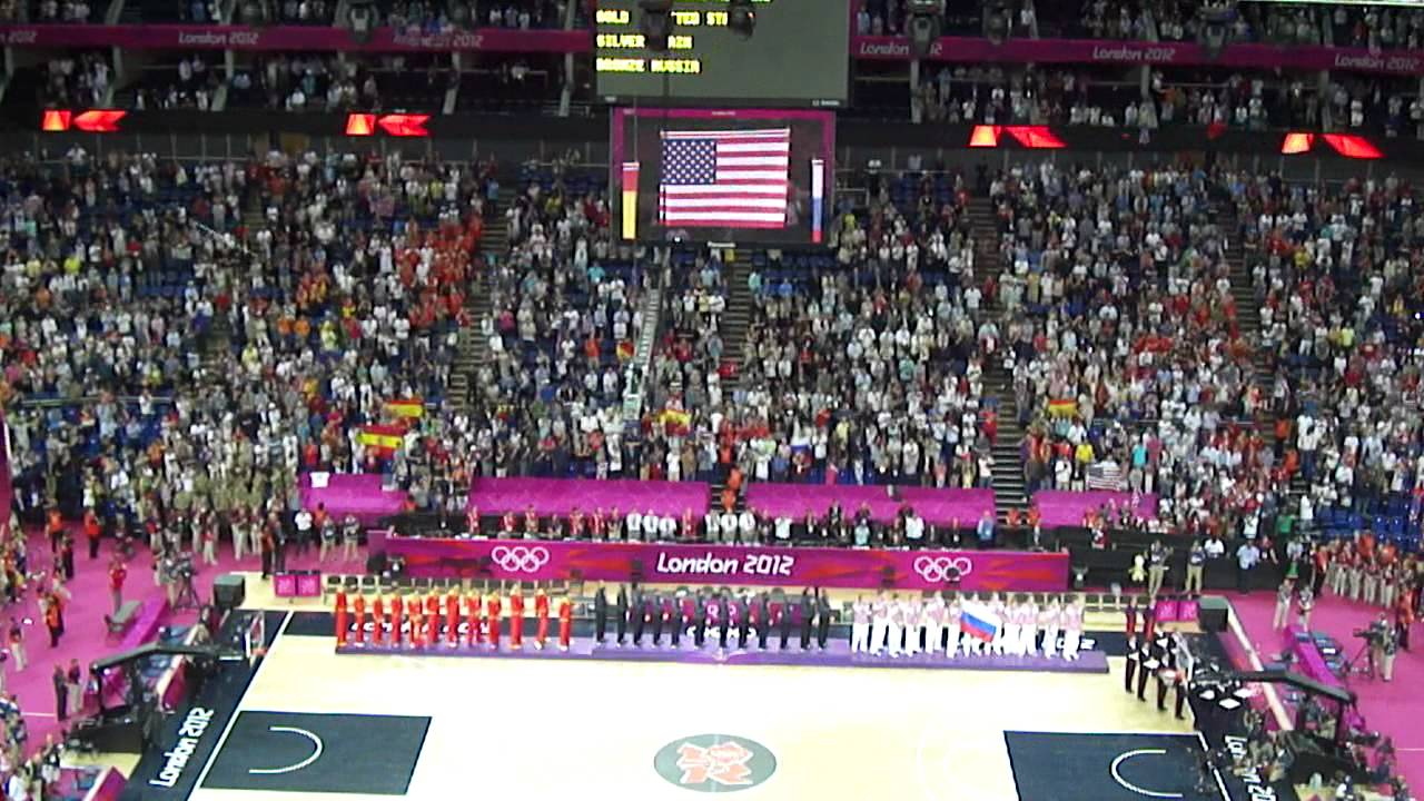 Anthem 2012 Olympics London 2012 Olympic Final