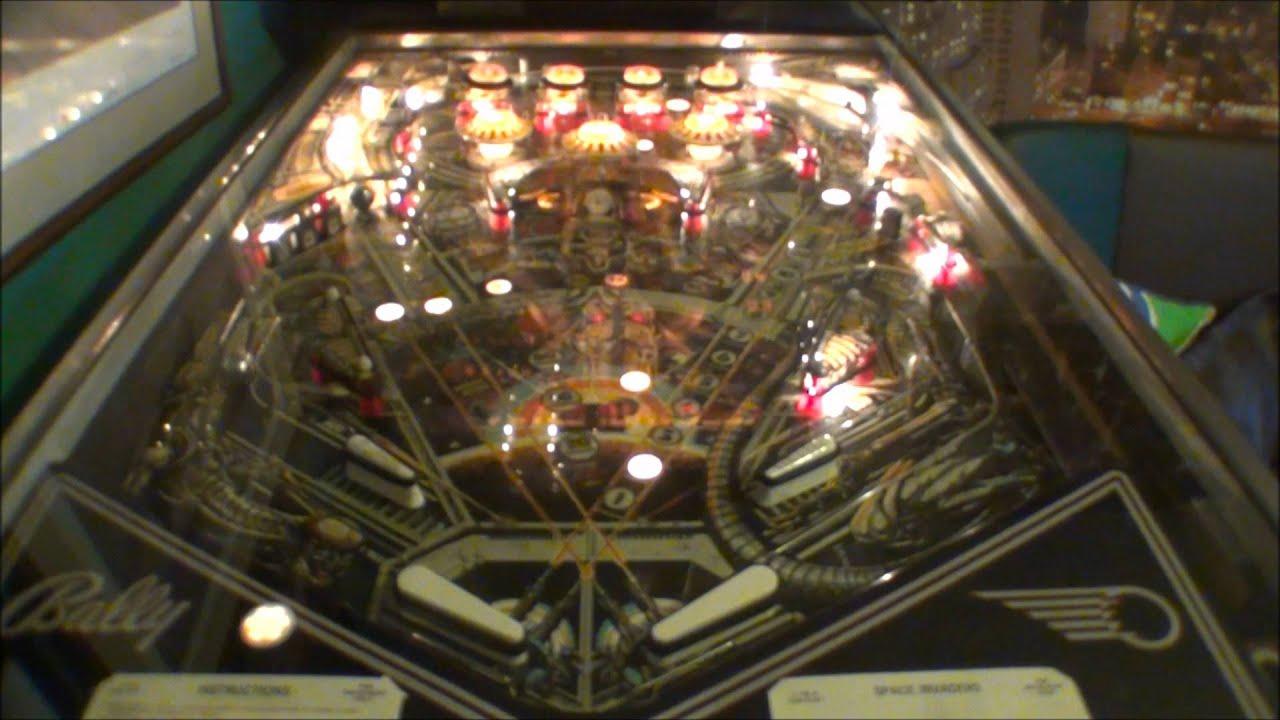 1979 Bally Space Invaders Pinball Machine Youtube