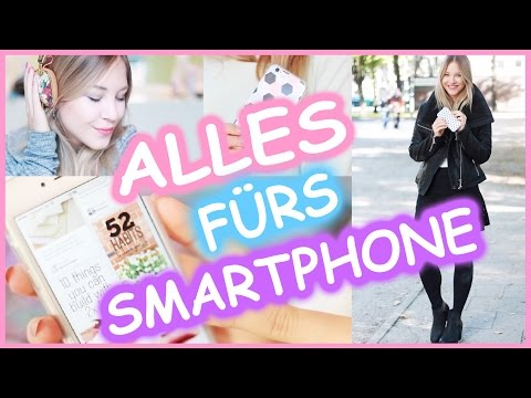 SMARTPHONE MUST HAVES I DIY HANDHÜLLE, APPS , ACCESSOIRES + GADGETS + VERLOSUNG