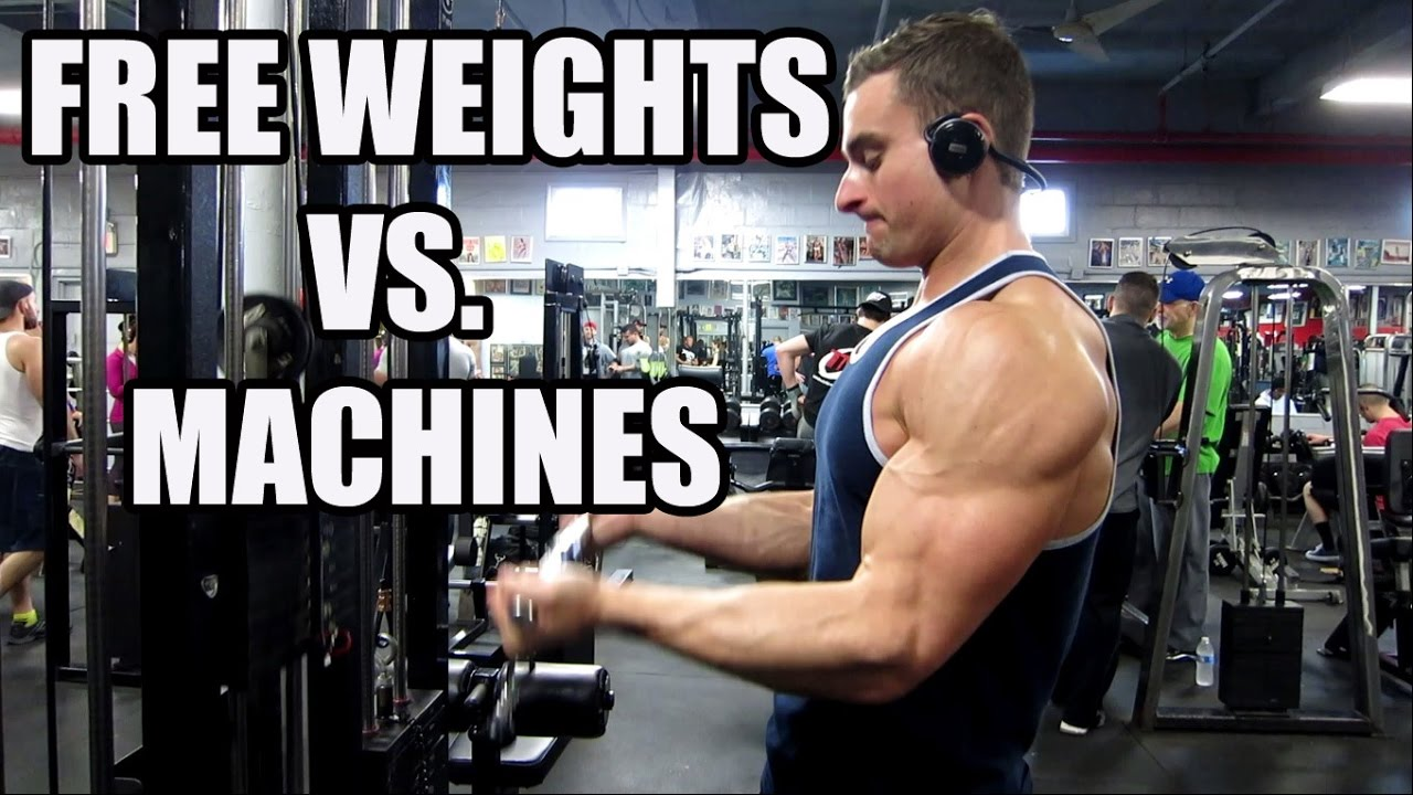 Free Weights vs. Machines