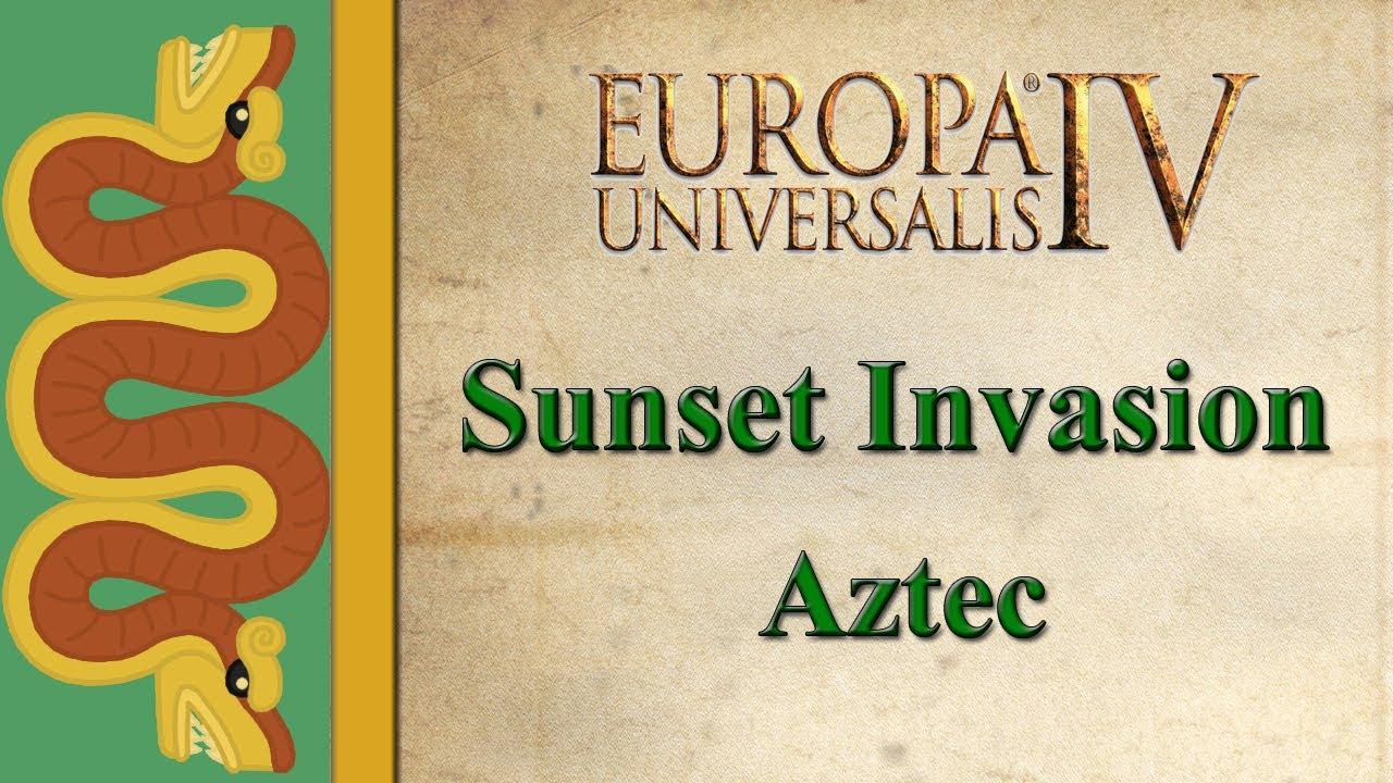 Aztec Sunset Aztec Sunset Invasion
