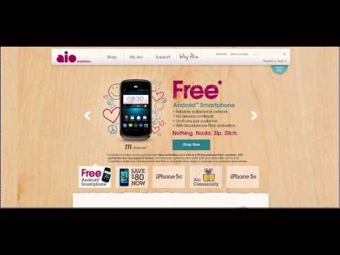 AIO Wireless - Free Phone for New Customers - ZTE Prelude