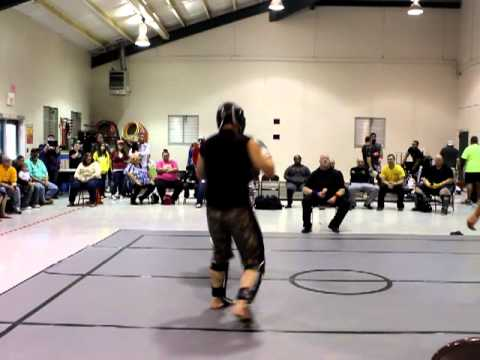 Pankration Competition - Danny represents Evolution Training in Kickboxing match Image 1