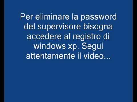 Hacking rimuovere password del supervisore internet explorer