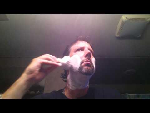 Straight Razor Shave 4 - Gold Dollar - Simpson Duke 3 - D.R. Harris Arlington