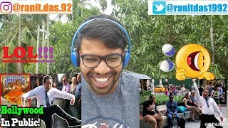 Q PARK - BOLLYWOOD SONGS IN PUBLIC!! |Reaction & Thoughts(LOL)