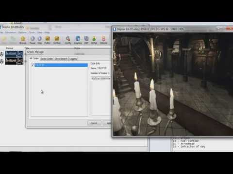 Resident Evil 1(Remake) GameCube - Cheat Engine - Item Modifier.Infinite Ammo