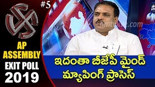 Debate on Exit Poll Results 2019 India #5 | hmtv