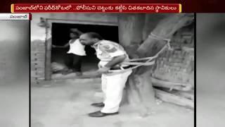 మద్యం మత్తులో మహిళపై అత్యాచారయత్నానికి యత్నించాడని చెట్టుకి కట్టేసి కొట్టిన మహిళా | NTV