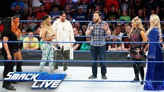 Daniel Bryan makes a decision regarding the Women's Money in the Bank: SmackDown LIVE, June 20, 2017