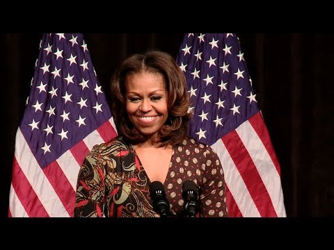 First Lady Michelle Obama Speaks on The Power of Education