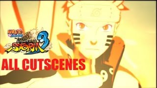 Naruto Shippuden: Ultimate Ninja Storm 3 - All Cutscenes Movie