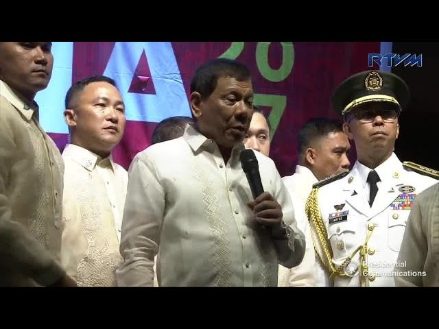 Duterte explains why he asked for martial law extension