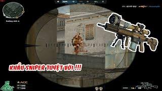 CF : HK G28 - Khẩu Sniper Trên Cả Tuyệt Vời | Đột Kích | Huy Hai Huoc