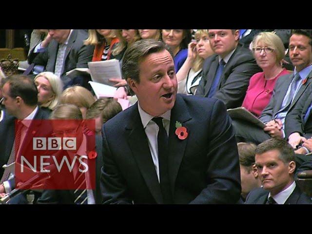 Cameron and Corbyn on tax credit cut 'guarantee' - BBC News