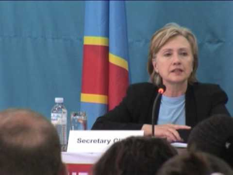 TodaysNetworkNews: HILLARY CLINTON: DR CONGO: SEXUAL VIOLENCE IN AFRICAN WAR