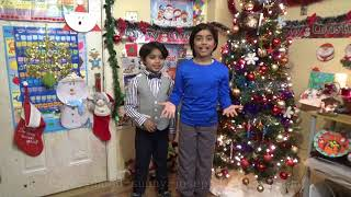 Frosty The Snowman Christmas Song with Lyrics by Daniel- Cute And Funny Kids