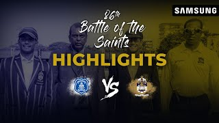 Match Highlights - 86th Battle of the Saints | St. Joseph's College v St. Peter's College
