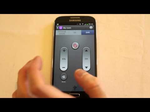 Galaxy S4 WatchON app review infra red control of your TV