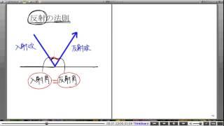 高校物理解説講義:「波の反射・屈折・回折」講義3