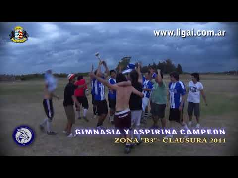 LIGAI CLAUSURA 2011 - B3 - GIMNASIA Y ASPIRINA 1-0 HUGO FOR EVER