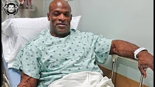 Ronnie Coleman Had a Successful 8th Back Surgery
