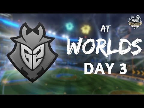 G2 at WORLDS | DAY 3 - Rocket League