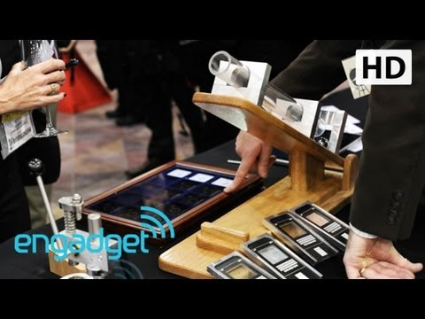 Corning Gorilla Glass 3: Hands On | Engadget At CES 2013