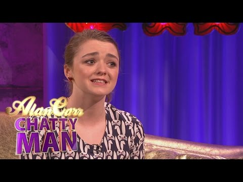 Maisie Williams' Cringeworthy Games of Thrones Experience - Alan Carr: Chatty Man