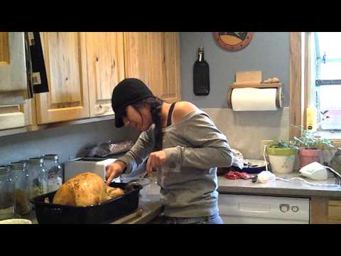 Thanksgiving Prank - pregnant turkey