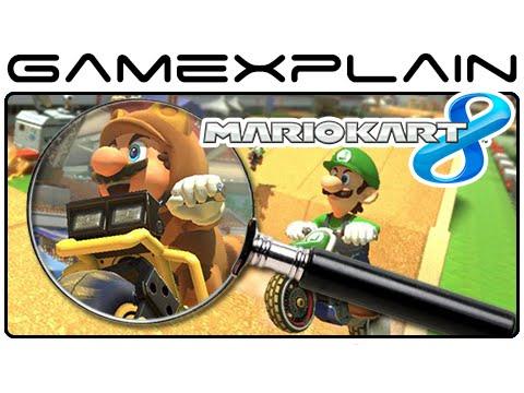 Mario Kart 8 Analysis - Excitebike Arena DLC Trailer (Secrets & Hidden Details)