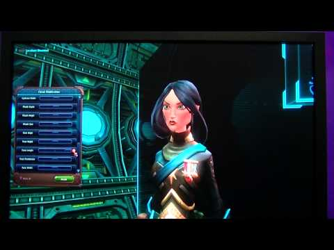 PAX East 2013 - Full WildStar Character Creator