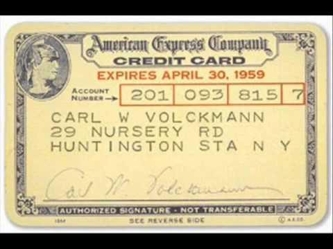 American Express History 1850 2008