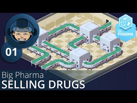 Big Pharma: Ep.01 - SELLING DRUGS -= Gameplay & Walkthrough =-