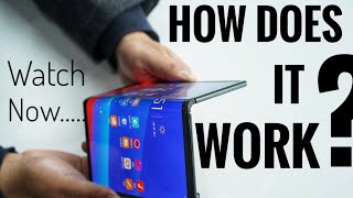 SAMSUNG Foldable Smartphone | How Does It Work ? | Samsung Infinity Flex.