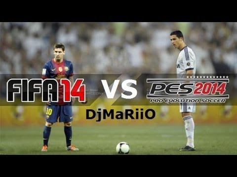 FIFA 14 vs PES 2014 | ¿CUAL ES MEJOR? | DjMaRiiO