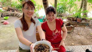 Vlog 67  Bữa cơm Quê Đạm Bạc Với Canh Rau Tập Tàn Và Mắm Chưng  Hồ Thùy Dương Vlog