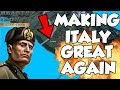 Hearts Of Iron 4 HOI4 Trying To Make A New Italian Empire Challenge (Waking The Tiger DLC)