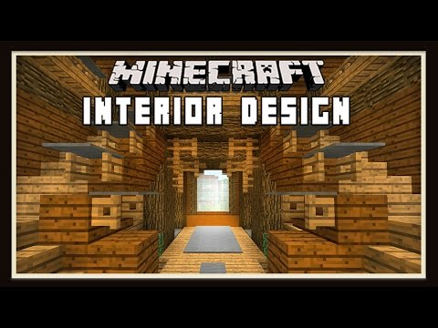 Minecraft:  How To Build A House - Interior Design Ideas  - part 7
