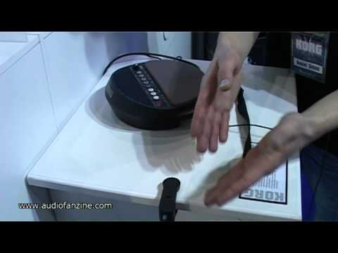 KORG WAVEDRUM MINI video demo [Musikmesse 2011]