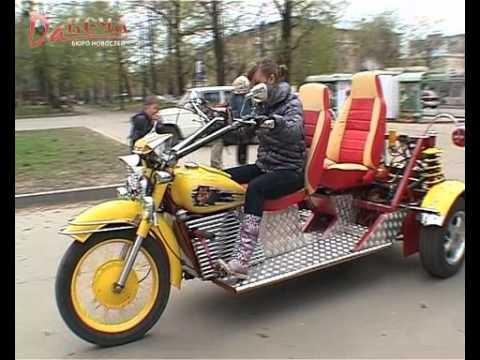 Мотоцикл своими руками ютуб 14