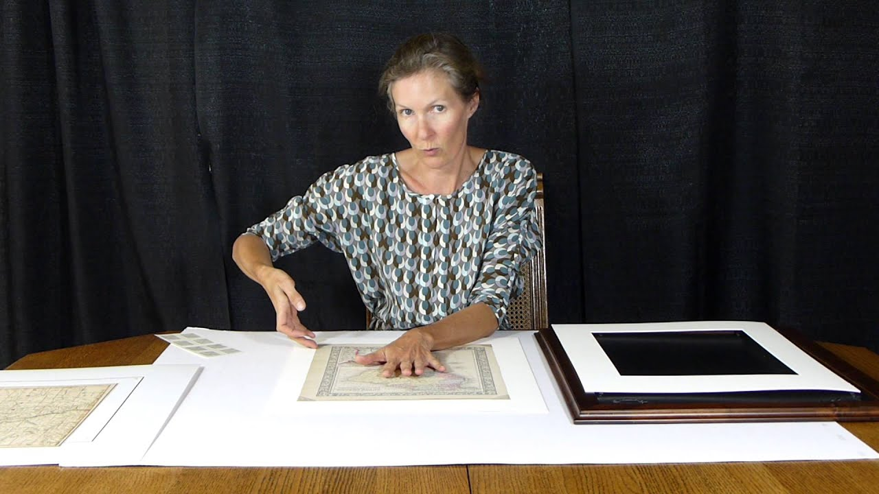 Mat (picture framing) - Wikipedia How to cut a mat for a photo