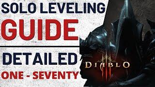 Season 14 1-70 SOLO Guide  - Diablo III