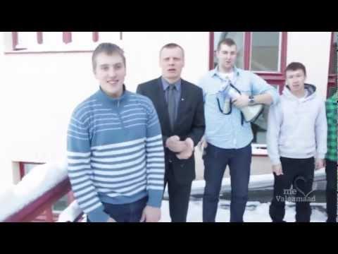 Valgamaa noorte lipdub-video