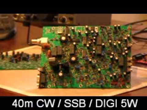 GenesisRadio G40 - Part1. Receiver, image rejection adjustment. Presented by Josh, VK2FJDX